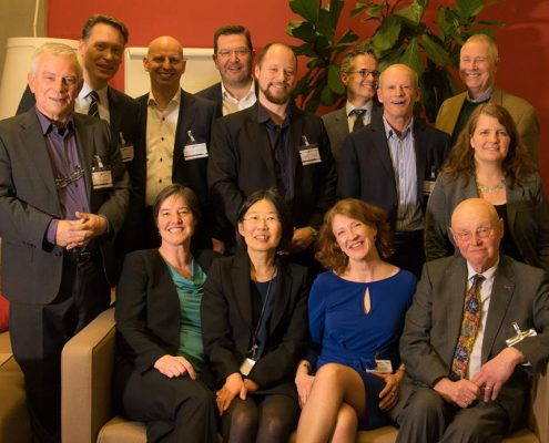 Get together met Prof. Geert Hofstede and colleagues from itim International in Leiden.