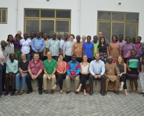 Teambuilding GIZ Ghana.