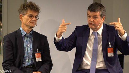 Bart Somers en Gert Jan Hofstede